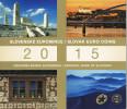 SLOWAKIJE - BU SET 2015 - 8 MUNTEN + TOKEN - Eslovaquia