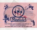 87 - NEXON - BUVARD RADIOLA- LA MAISON ELECTRICITE LUCIEN PASQUET - Buvards, Protège-cahiers Illustrés