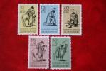 Paaszegels Easter; NVPH 470-474 Mi 514-518 ; 1967 MH / Ongebruikt SURINAME / SURINAM - Surinam ... - 1975