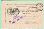 EU4.  Ministère Des Chemins De Fer  Lessines 10.6.1893   (1 Petit Trou) - Marcophilie