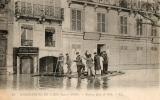 CPA Paris 7e Inondations De 1910 Radeau Quai De Billy - Paris Flood, 1910