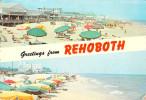 Etats-Unis  (Comté De Sussex Delaware) Greetings From REHOBOTH BEACH-ETAT= Voir Description (Timbre Stamp) *CATH - Autres