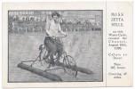CALAIS  - Miss Zetta Hills , Traversée En Water Cycle Du Détroit, De Dover à Calais Le 16 Aout 1920 - Calais