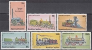 Togo MiNr. 1374/79 A ** Lokomotiven - Togo (1960-...)