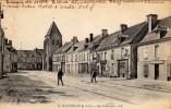 MANTHELAN - Rue Nationale  Carte écrite En 1918.   2 Scans   TBE - France