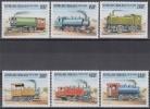 Togo MiNr. 2809/14 ** Alte Lokomotiven - Togo (1960-...)