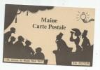 Cp , Ombre , Publicité : MAINE Cartes Postales , Publicité , Vierge , C Et J DONAT - Contre La Lumière