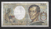 Billet De 200 Francs.1991. - 200 F 1981-1994 ''Montesquieu''