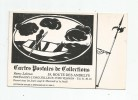 Cp , Ombre ,  Publicité , Cartes Postales De Collections , 27 , Pressagny L´Orgueilleux , VERNON , Vierge - Contre La Lumière