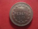 Espagne - Peseta 1937 Gobierno De Euzkadi 1321 - Republican Location