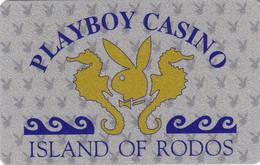 GREECE - Playboy Casino Rodos, member card, used