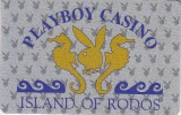GREECE - Playboy Casino Rodos, Member Card, Used - Casinokaarten