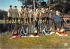 40 Landes  SAINT JULIEN EN BORN Costumes Landais Groupe Folklorique LOU BECTOS De COUNTIS (Echasses Folklore)*CATH - France