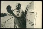 Cpa Soudan Trompe De Guerre Ou Sirène D' Alarme Chez Les Samis     OCT14 - Sudan
