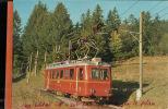 CPM  BVB 31401 CH  Ch. De Fer BEX-Villars - Bretaye  BD He 2/4 Serie 21-26 SLM-MFO 1939-1945   Oct 2015  203 - Eisenbahnen