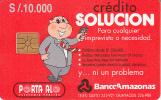 ECUADOR - Banco Amazonas, Chip GEM2, Used
