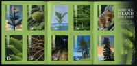 NORFOLK - 2015 - Arbres, Pins, Sapins - Carnet De 10 Timbres Auto Collants Neufs *** // Mnh Booklet - Norfolk Island
