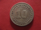 Straits Settlements - 10 Cents 1891 Victoria 1648 - Malaysia