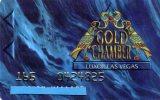 CARTE DE CASINO LUXOR LAS VEGAS Gold Chamber ETATS-UNIS