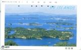 Telefonkarte Japan - Landschaft - 99 Inseln - 391-255 - Japan