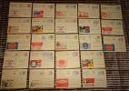 Lot Met 23 PUBLIBELS Allen Gebruikt En In Goede Staat (zie Alle Scans) ! Inzet Aan 8 € ! MVD LOT 102 - Stamped Stationery