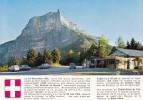 """COL Du GRANIER (alt. 1164 M) : """"Porte De La Chartreuse"""" Dominé Par Le Mont Granier (1938 M), Avec Blason Et Historique - France"""