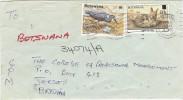 LBL33D2 - BOTSWANA  LETTRE DE MAI 1990 - Botswana (1966-...)