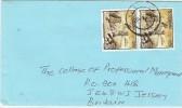 LBL33D2 - BOTSWANA  LETTRE D'AOÛT 1992 - Botswana (1966-...)
