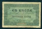 NORWAY. EN, 1 KRONE. 1917. Orginal. - Norvegia