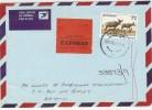 LBL33D2 - BOTSWANA  LETTRE EXPRES DE MAI 1990 - Botswana (1966-...)