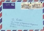 LBL33D2 - BOTSWANA  LETTRE  DE MAI 1992 - Botswana (1966-...)