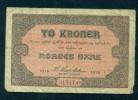 NORWAY. TO, 2 KRONE. 1918. Orginal. - Norvège