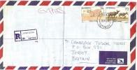 LBL33D2 - BOTSWANA  LETTRE   RECOMMANDEE D'AVRIL 1990 - Botswana (1966-...)