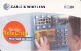 PANAMA(chip) - Telechip Phonecards, Chip GEM3.1, Used