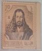 E11l FUJEIRA 1971 Mi 670A Painting Albrecht DURER - MNH - GOLD FOIL Stamp - Fujeira