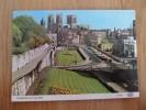 48319 POSTCARD: YORKSHIRE: York: York Minster From City Walls. - York