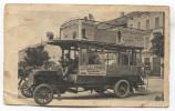 ARAD Romania - Old Bus Autobus, Advertising PC ( Without Rear Side), Original - Romania