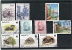 MONACO Année 1991 - 10 Timbres Oblitérés TB N° 1762 1767 1779 1780 1800 1804 1805 1806 1807 1808 - Used Stamps