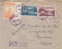 Bateaux - Port - Roumanie - Lettre Recommandée De 1948 - Oblitération Vaslui - Expédié Vers La Belgique - - Covers & Documents