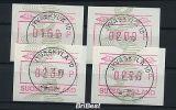 FINNLAND 1993 ATM Nr 14 Satz S1 Von ANr 033 (78679) - Vignettes D'affranchissement (ATM/Frama)