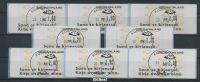 FINNLAND 1992 ATM Nr 12.6 Satz S5 EST KUOPIO (78616) - Vignettes D'affranchissement (ATM/Frama)