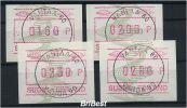 FINNLAND 1993 ATM Nr 14 Satz S1 Von ANr 029 (78682) - Vignettes D'affranchissement (ATM/Frama)