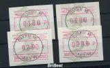 FINNLAND 1993 ATM Nr 14 Satz S1 Von ANr 018 (78693) - Vignettes D'affranchissement (ATM/Frama)