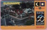 Surinam Phonecard