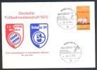 Football Soccer Fussball Calcio 1972 Card: Deutsche Fussballmeisterschaft: FC Bayern - Schalke0 04; Olympiastadion - Unclassified