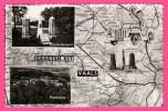 Groeten Uit Vaals - Carte Géographique - Dessin De Voiture - Drielandenpunt - Panorama - SIMONS C.V. - Vaals