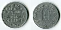 N93-0219 - Monnaie De Nécessité - Saint-André-de-l'Eure - Union Commerciale Et Industrielle - 10 Centimes 1921 - Noodgeld