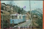 CPM Bex Villars Bretaye  BVB  31407 CH   Bt 41 (1964) B51 (1953) Et HGE 4/4 31 (1953)  Villars Et Bretaye  Oct 2015  239 - Eisenbahnen