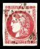 N°49, 80c Rose, Oblitération étoile De Paris, R.R. (signé Brun/certificat)    Qualité: O - 1870 Emission De Bordeaux