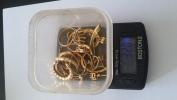 32G Bijoux En Or (cassées) - Jewels & Clocks